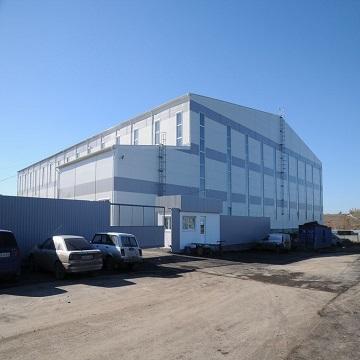 Быстровозводимое здание из металлоконструкций для ООО «ТОРЭКС»