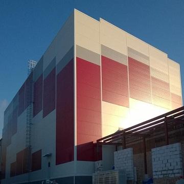 Быстровозводимое здание из металлоконструкций для ОАО «КФ «БЕЛОГОРЬЕ»