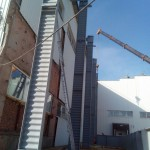 Быстровозводимые здания из металлоконструкций. Монтаж в разгаре