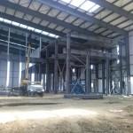 Быстровозводимое здание из металлоконструкций. Обустраиваем каркас для внутренних сооружений