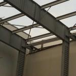 Быстровозводимые здания из металлоконструкций. Вид изнутри
