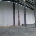 Быстровозводимое здание из металлоконструкций. Готовый промышленный пол