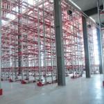Быстровозводимое здание из металлоконструкций. Обустройство стеллажной системы
